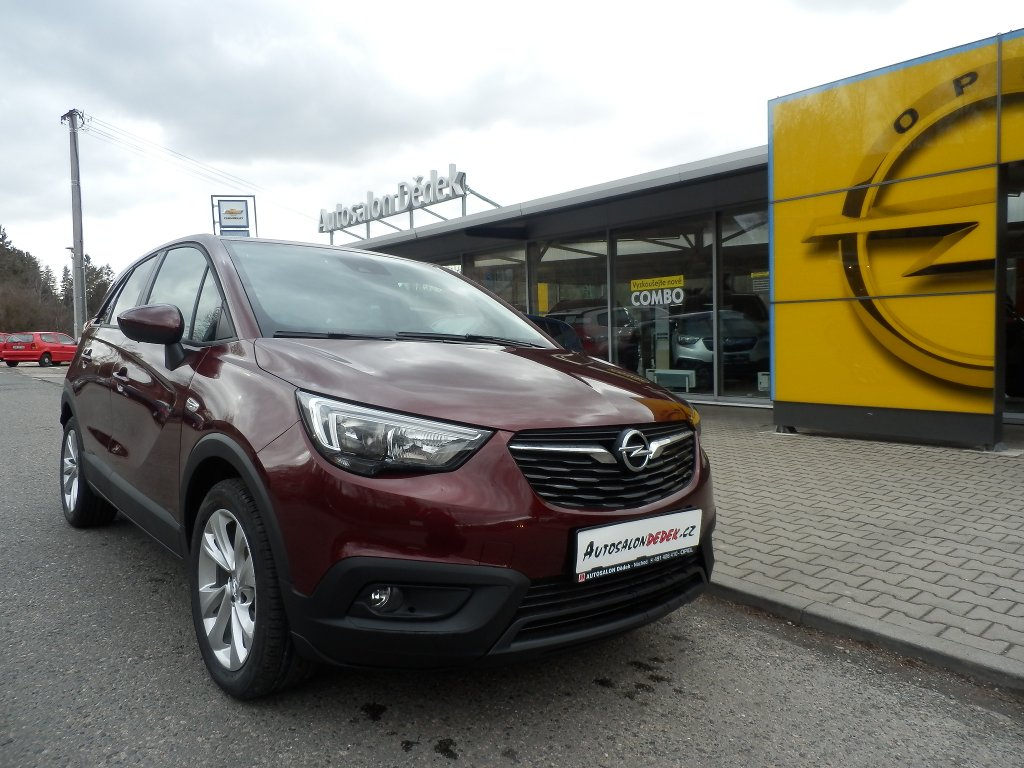 Opel Crossland X SMILE 1,2 60 kW MT5