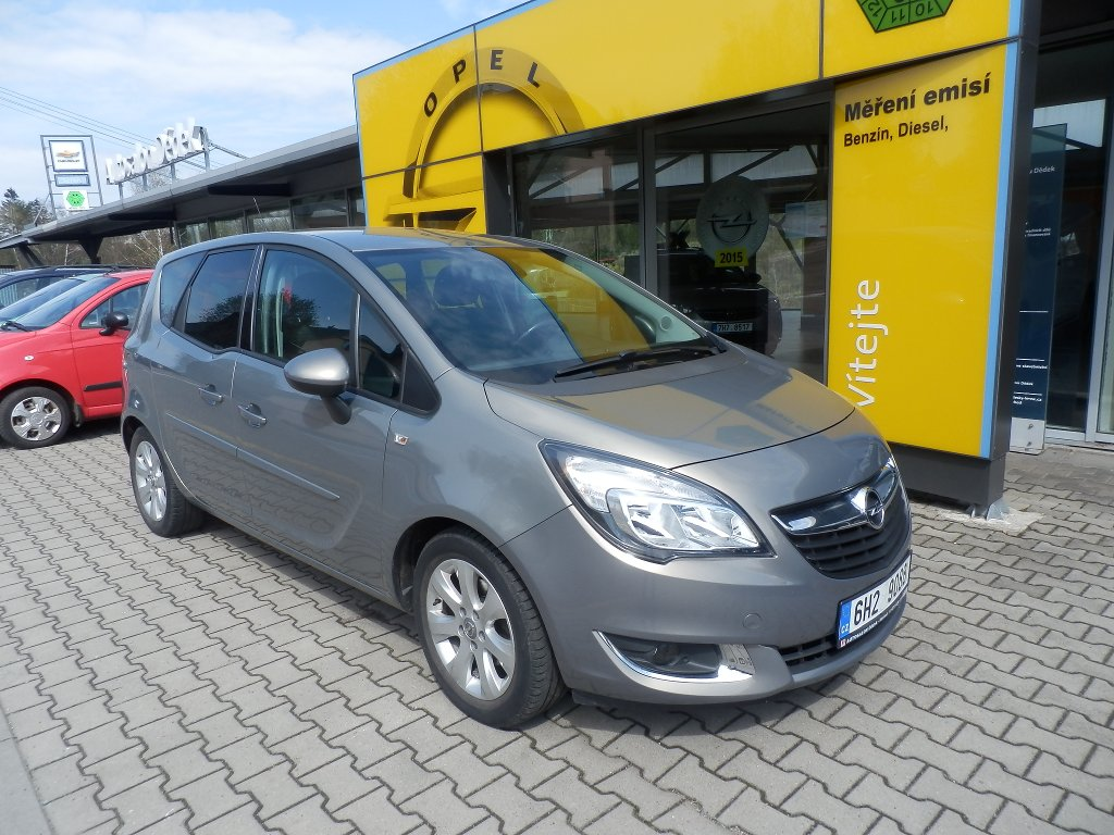 Opel Meriva 1,4 TURBO 88kW ENJOY MT6, CZ