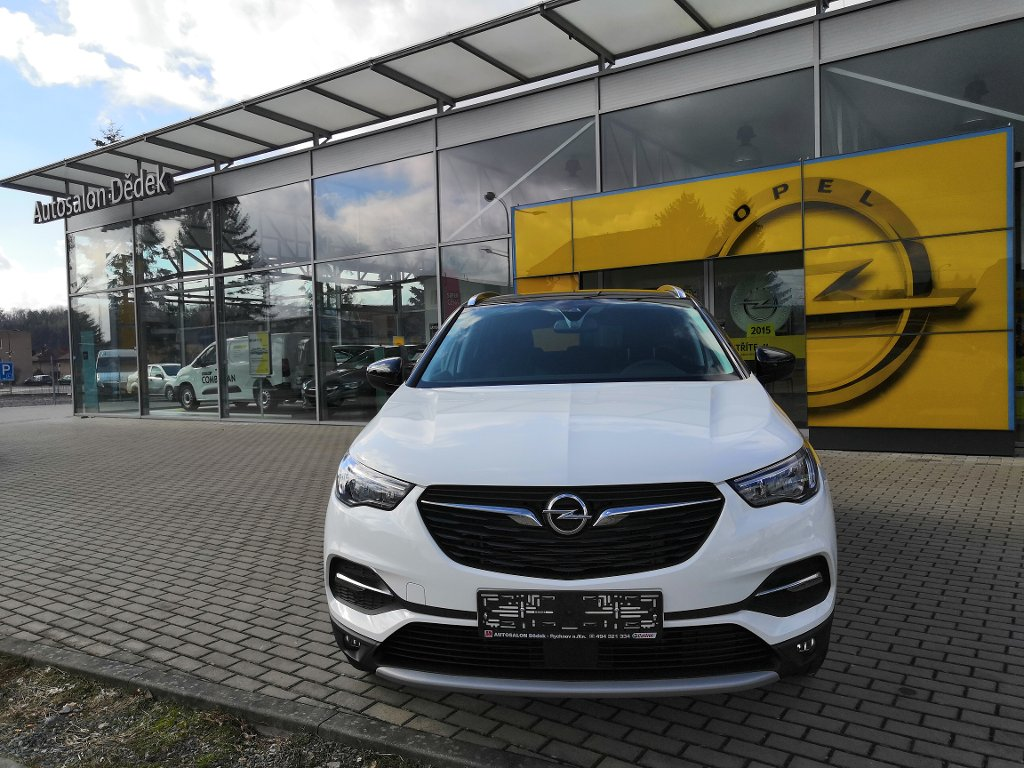 Opel Grandland X SMILE 1,2 TURBO 96kW MT6