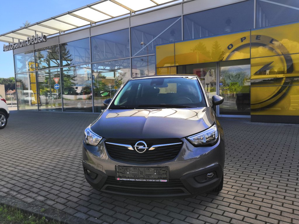 Opel Crossland X SMILE 1,2 TURBO 81kW MT6